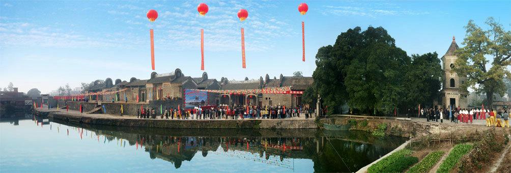 中国历史文化名村——大旗头古村