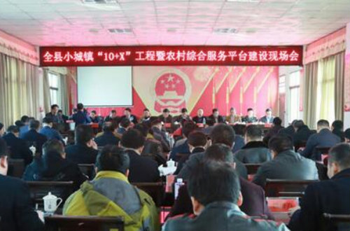 祁阳县全力推进小城镇和农村综合服务平台建设