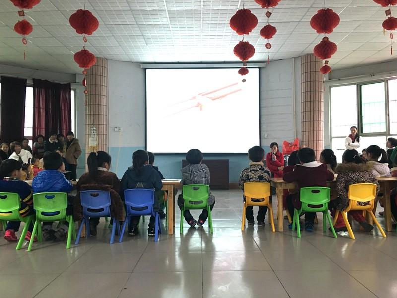 项城市教体局开展幼儿园送教下乡活动