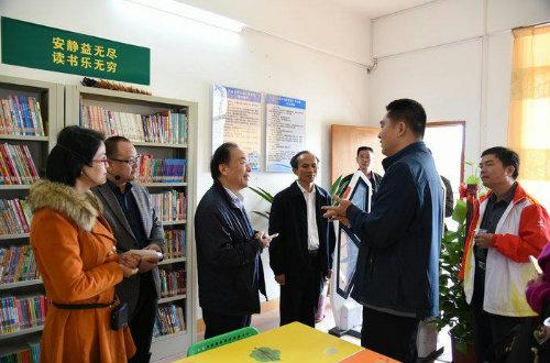 英德、大埔、阳春、化州兄弟县(市)到我市 参观交流职成教育