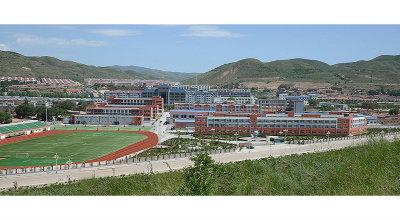 西吉县职业中学全景图