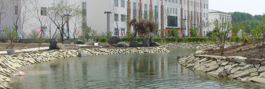县职教中心学校校园