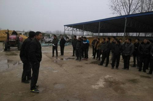 泌阳县民政技校举办玉种植高产技术培训班