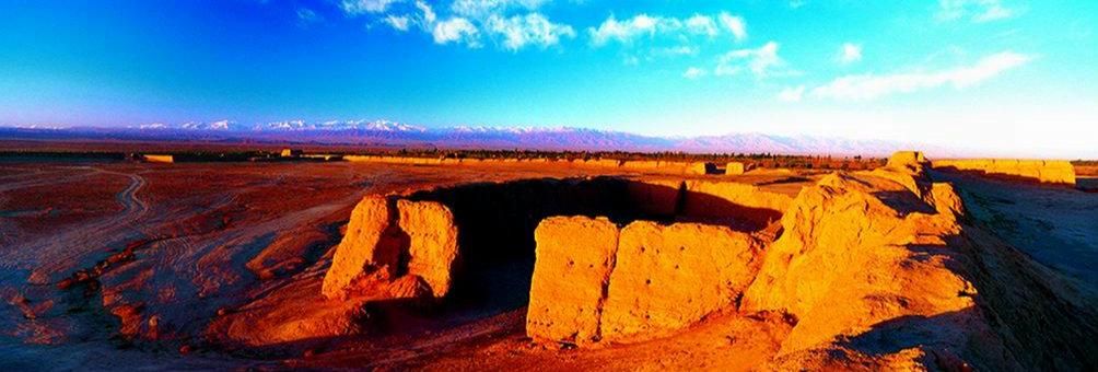 骆驼城遗址