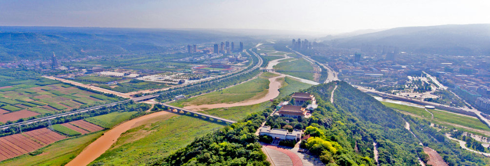 泾川县城全貌