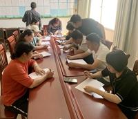 盈江县开展职业高级中学教育经费自查自纠工作