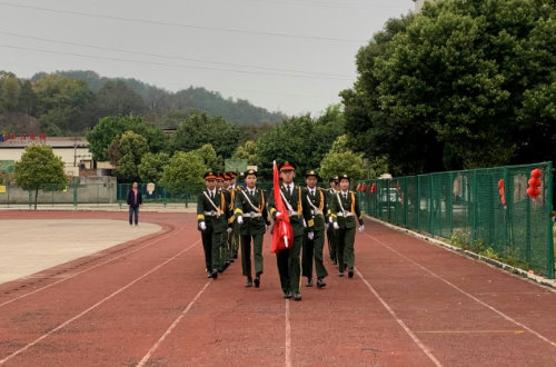 新学期 新征程——福安职业技术学校举行春节开学典礼仪式