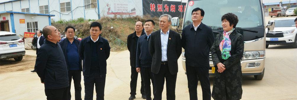 运城市副市长梁青燕视察指导职业中学新校区建设工作